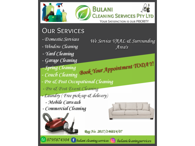 Professional Cleaning Services - 1/4