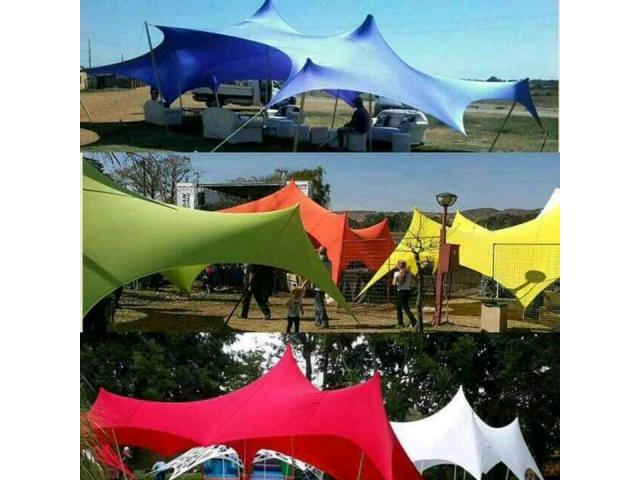 STRETCH TENTS FOR SALE - 1/4