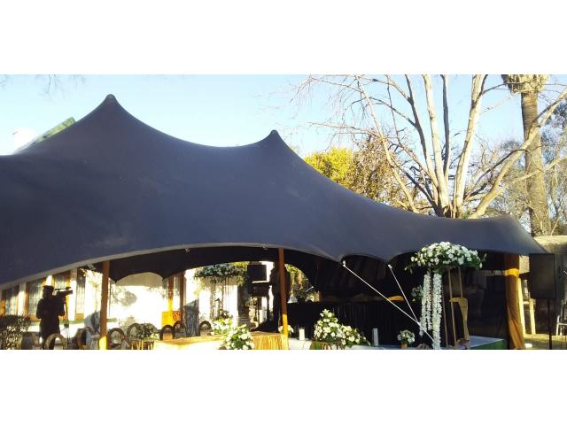 STRETCH TENTS FOR SALE - 4/4