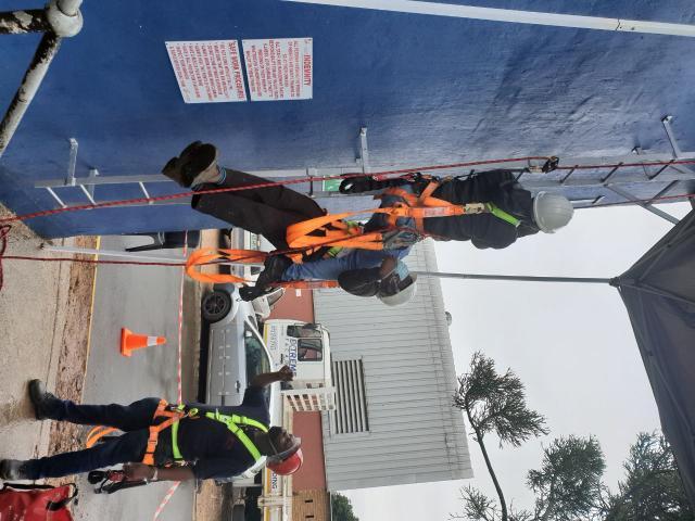 Scaffold erectors and inspectors training Ballito - 3/4