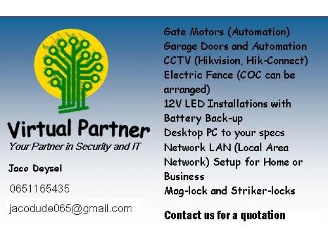 Security, IT and Maintenance | Gate Motors | Electric Fence | CCTV - 4/4