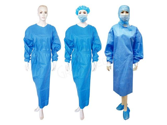 MPR7020 Disposable Surgeon Gown AAMI Level 3 - 1/1
