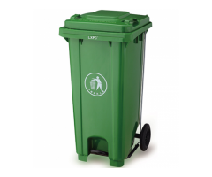 Wheelie Bins with Metal Pedals