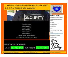 National Key Point ( NKP Training) | NKP Training | Security Training