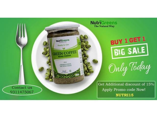 Green Coffee: Benefits, Weight Loss, and Side Effects | NutriGreens - 1/1