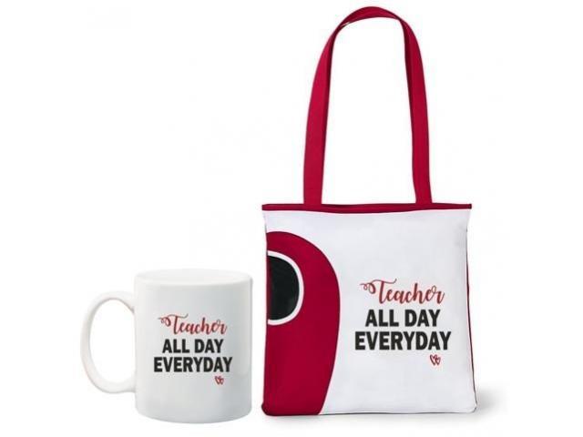 Teacher all day everyday, tote bag and mug combo - 4/4