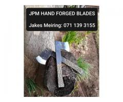 Hand Forged Blades, Knives and Axes