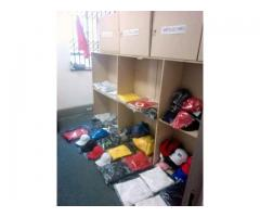 Gym Wear, Promotional Wear and other items