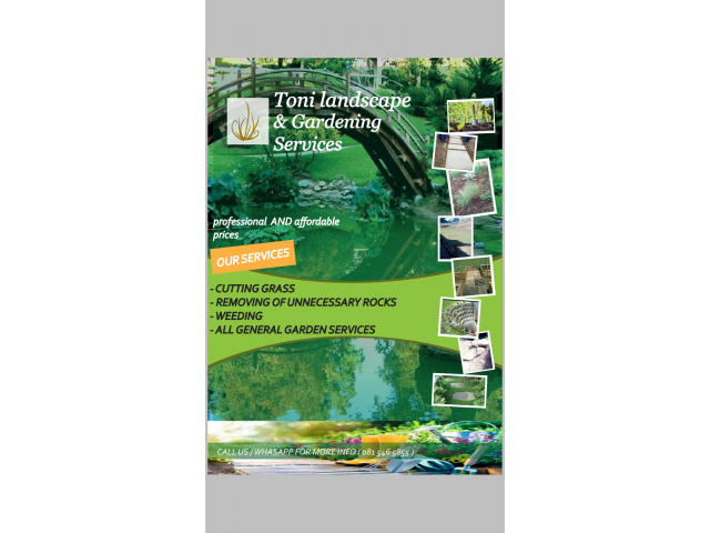 Toni Landscape and Garden Services - 1/3