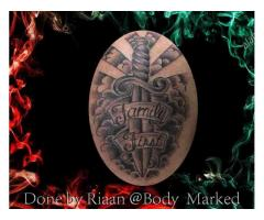 Body Marked tattoos