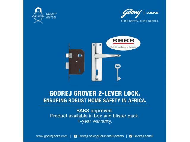 Godrej 2 Lever Locks - 3/3