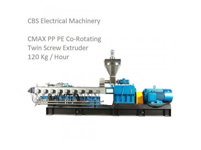 CMAX PP PE Co-Rotating Twin Screw Extruder - 1/2