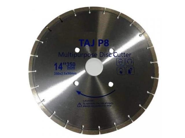 TAJ P8 multipurpose disc cutter - 1/1