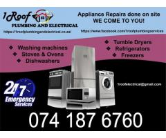 Appliance Repairs on Site | Appliance Repairs | Solar Geysers | Electrical Repairs