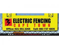 Electric Fencing installation