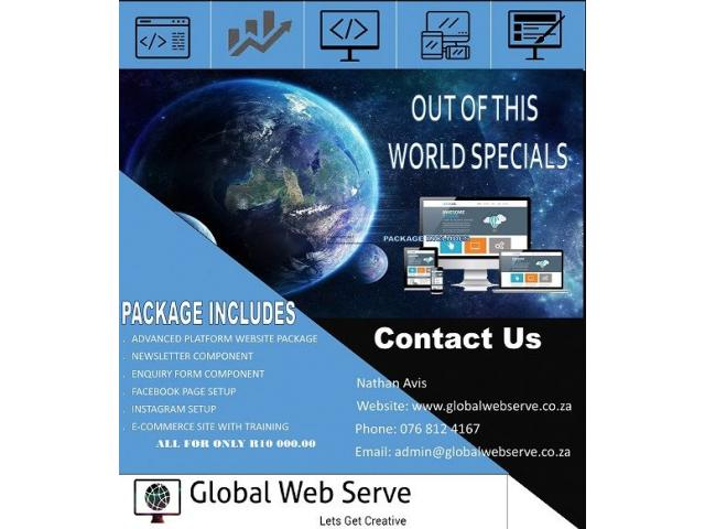 Global Web Serve Web Design and Web Hosting - 3/4