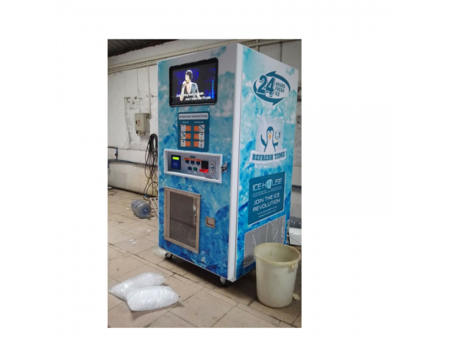 Automated Ice & Water Vending Machines For Sale – Automatic Bagging & Sealing, Sell Ice 24/7 - 2/4
