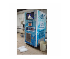 Automated Ice & Water Vending Machines For Sale – Automatic Bagging & Sealing, Sell Ice 24/7