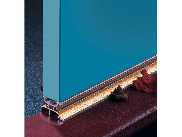 Weather Seals and Acoustic Seals for exterior doors and windows - 1/4