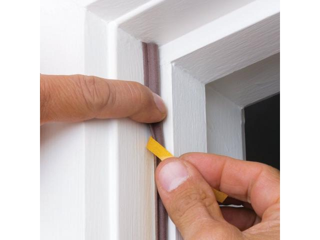 Weather Seals and Acoustic Seals for exterior doors and windows - 3/4