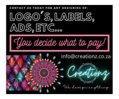 DESIGNING - Logo's, Ads, Labels, etc