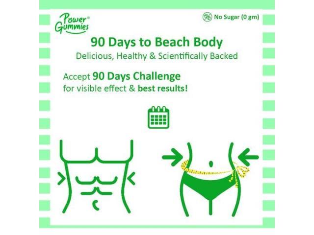 Power Gummies – The Beach Body Gummies | 2 Months Pack - 3/4