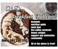 21 DAY BREAKFAST CHALLENGE