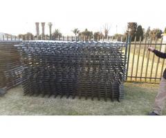 Palisade fencing | Gates