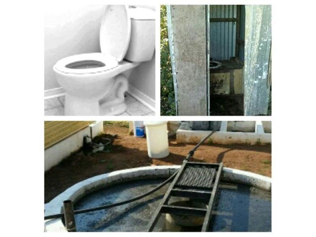 Pit toilet or septic tank full or smelly? - 1/1