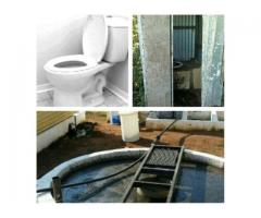 Pit toilet or septic tank full or smelly?