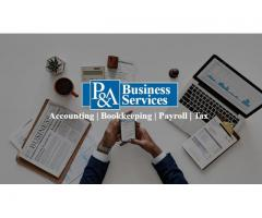 P and A Business Services | Bookkeeping | Payroll | Business Registrations | Taxation