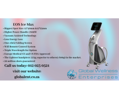 EOS Ice Max | 1800w Diode laser hair removal machine
