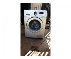 Used Samsung 8Kg eco bubble washing machine.