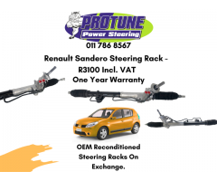 Renault Sandero - OEM Reconditioned Steering Racks