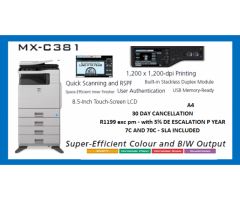 Short term Copier rentals