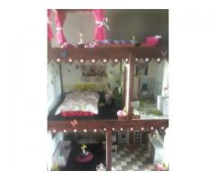Fully furnished Barbie house