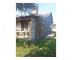 2 bedroom house on shared 5 acre property