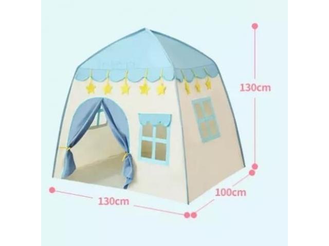 Play Flower Castle Tent – Blue - 2/2