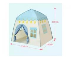 Play Flower Castle Tent – Blue