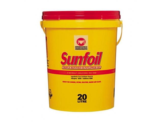 SUNFOIL SUNFLOWER OIL AVAILABLE ON DISCOUNT RATES - 1/3