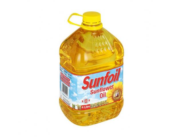 SUNFOIL SUNFLOWER OIL AVAILABLE ON DISCOUNT RATES - 2/3