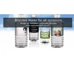 Branded Water for all occasions