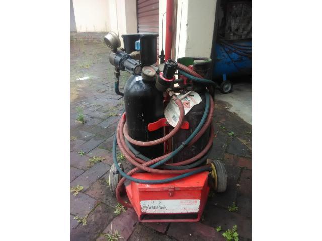 Afrox Portapak gas welding set - 1/2