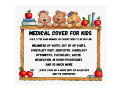 MEDICAL cover just for kids