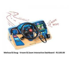Melissa and Doug - Vroom and Zoom Interactive Dashboard