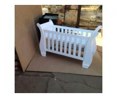 Budget Sleigh Cot for Sale | Sleigh Cot | Duw 09-