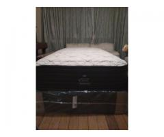Brand New SEALY POSTUREPEDIC REALTO three quarter (mattress and base) Bed set