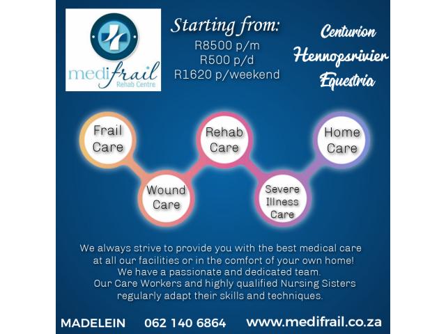 Medifrail - Frail Care, Alzheimer's and Dimensia care - 1/1