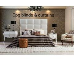 Blinds, curtains headboards and accessories