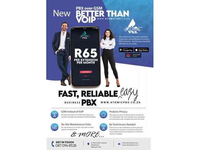 NEW! PBX over GSM - Better than VoIP! Embrace the new normal with business telephony that works! - 3/3